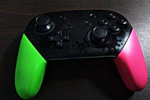 【NintendoSwitch】スプラトゥーン2でコントローラの角度がきつすぎる時の調整方法